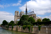 Notre Dame, river view